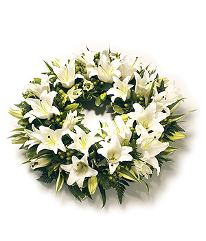 Funeral Flowers Send Flowers For Funeral Florist India Wreath