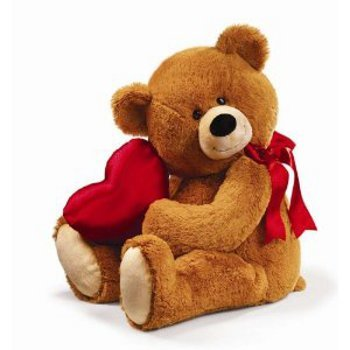 Teddy Bear (12 inches) with Valentine heart Mumbai