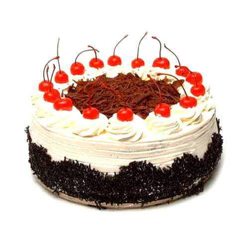 Black Forest Cake delivered oven fresh.
