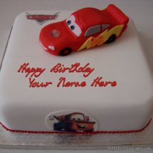 2 Kg chocolate Cake with Toy car on top