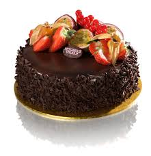 1/2 kg Chocolate fruit cake