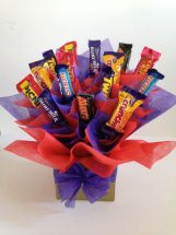 20 mix cadbury chocolates in a bouquet