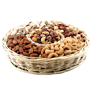 Assorted Dryfruits of six varieties.