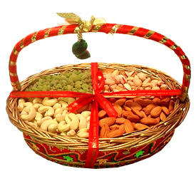 Assorted Dryfruits of four varieties.