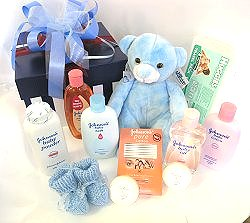 Johnsons Baby kit.