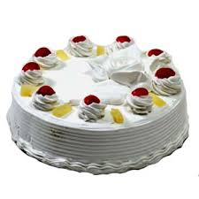 1/2 Kg Cake Choose Flavour in the form or message box