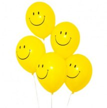 20 Helium gas filled Smiley Balloons
